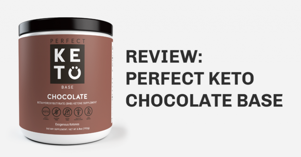 perfect keto chocolate base bhb ketone salts