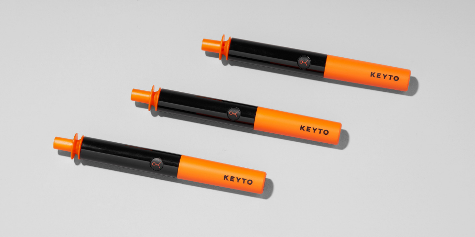 3 Keyto Breath Sensors