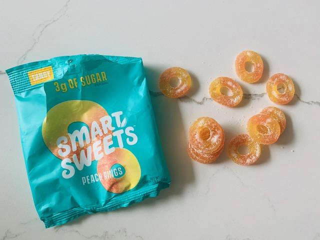 Smart Sweets peach rings flavor