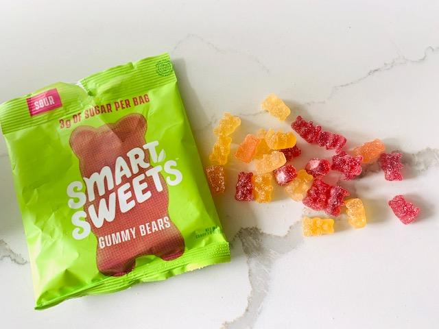 Smart Sweets sour gummy bear flavor