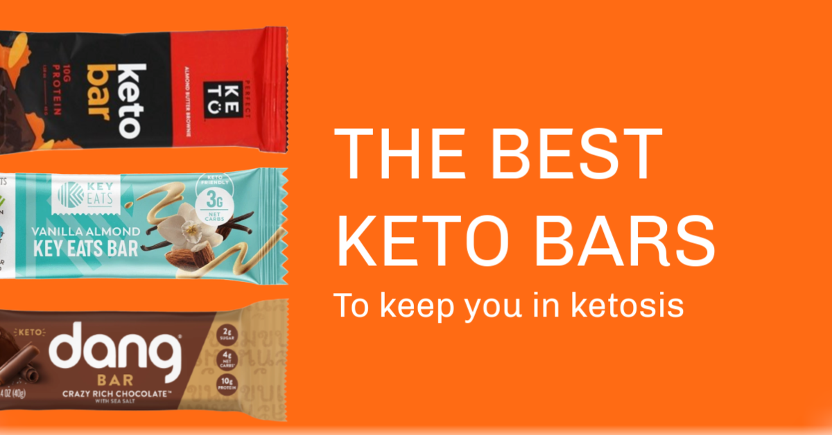 The best keto bars hero