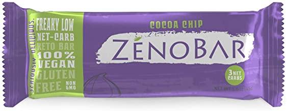 Zeno's cocoa keto bars